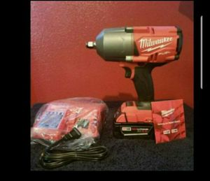 Brand new milwaukee impact wrench 4 speed 1400 lbs pounds torque for Sale in Bakersfield, CA