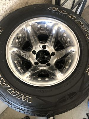 15 inch rims and wheels for Sale in Fort Myers, FL