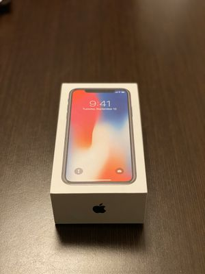 ***UNLOCKED***Mint condition Apple iPhone X 256GB *** for Sale in Cookeville, TN
