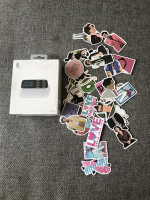 Charger & stickers bundle for Sale in Fontana, CA