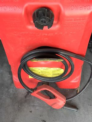 Large gas can like new for Sale in Elk Grove, CA