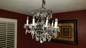 Crystal chandelier for Sale in Rancho Cucamonga, CA