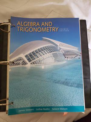 Algebra and Trigonometry 4th Edition for Sale in Normal, IL