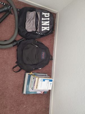 Backpacks and books for Sale in Visalia, CA