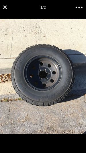 Good wheels for chevy truck or 6x 5.5 for Sale in Santee, CA