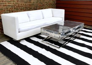 Jayson Home Rustic Chrome Coffee Table Industrial Luggage Style for Sale in Park Ridge, IL