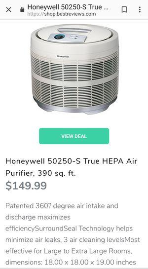 Honeywell 50250-S True HEPA Air Purifier, 390 sq. ft. for Sale in Ashburn, VA