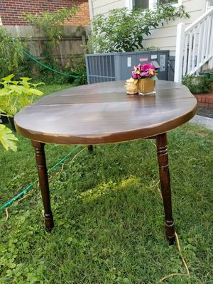 Solid Wood Oval Table for Sale in Norfolk, VA