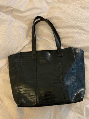 Neiman marcus faux crocodile tote bag for Sale in Santa Cruz, CA