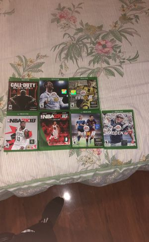 Xbox one games. All 100% work for Sale in Alexandria, VA