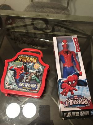 NEW SPIDER 🕷 MAN COLLECTIBLE SET for Sale in Nashville, TN