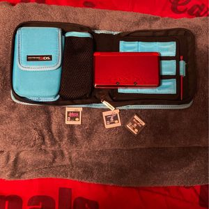 Flame Red 3ds Complete Set for Sale in Tolleson, AZ