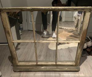 Antique Window Pane Mirror for Sale in Washington, DC