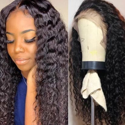 24 Inch Curly Lace Wig
