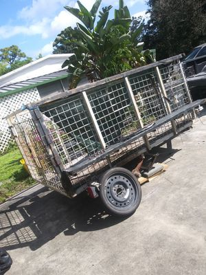 Trailer don't know anything about it selling as for Sale in Greenacres, FL