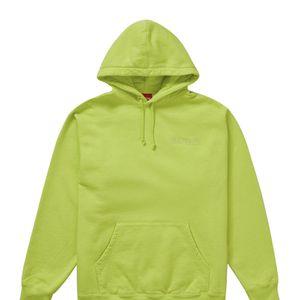 Supreme Smurf Hoodie Acid Green Size Large for Sale in Atlanta, GA