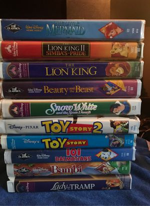 Disney VHS tapes for Sale in Lauderhill, FL