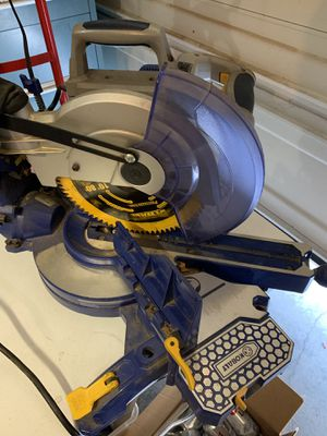 "Kobalt 10"" compound miter saw for Sale in Tacoma, WA"