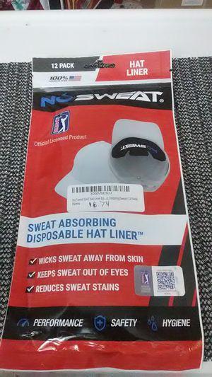 No sweat headliner helmet liner hard hat liner for Sale in Stronach, MI