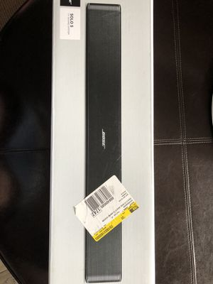 Brand new BOSE Solo 5 TV System for Sale in Springfield, VA