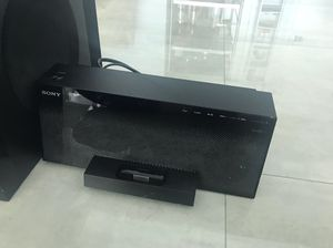 Sony AIR SW10T Black Docking System for IPod with Wireless Subwoofer for Sale in Miami, FL