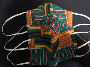 Ankara Fabric Face Mask for Sale in Portsmouth, VA