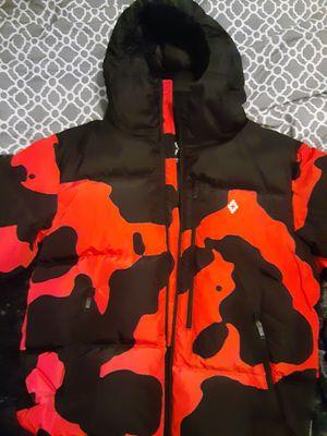 Marcelo Burlon Cross Camou Down Jacket - Black - Parka Jackets for Sale in Seattle, WA