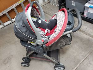 Graco snugride click connect 30 travel system - car seat and stroller for Sale in Scottsdale, AZ