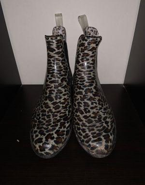 Merona cheetah print rain boots for Sale in Columbia, MD