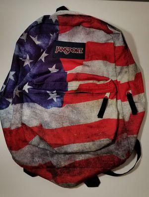 Jansport High Stakes Grunge American Flag Backpack for Sale in Chandler, AZ