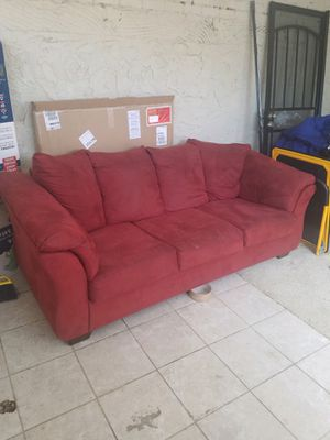Red Sleeper Sofa for Sale in Denver, CO