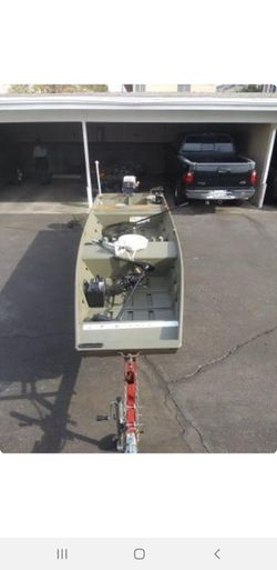 Bass Tracker John Boat for Sale in Arcadia,  CA