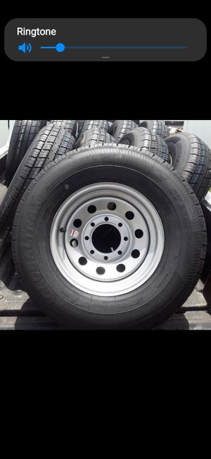 New st235/80r16 trailer tires or wheels for Sale in Fort Pierce, FL