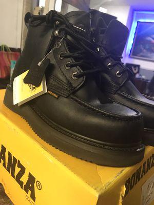 Work boots//men's BONANZA BRAND NEW //SIZE//(11)(9)(8.5)(8)7.5)(6.5) for Sale in Skokie, IL