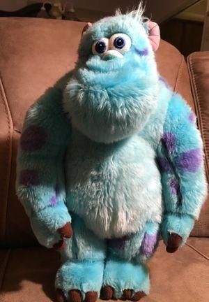"""18"""" monsters Inc. stuffed animal$20 for Sale in Menifee, CA"""