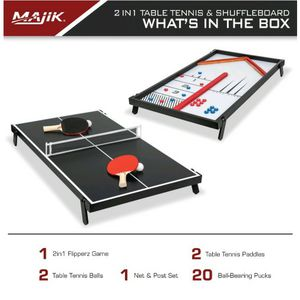 2 In 1 tennis table and shuffleboard for Sale in Monroe Township, NJ