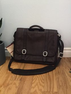 Canyon Leather Goods Messenger Briefcase Bag for Sale in Camas,  WA