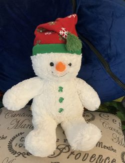Build a Bear Snowman with a Red Hat for Sale in Warwick,  RI