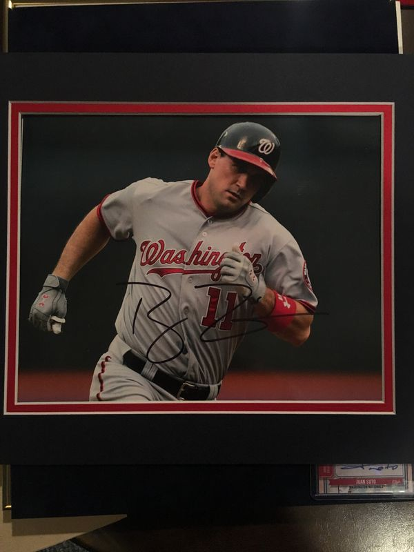 Ryan Zimmerman autographed gloss photo