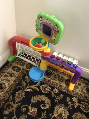 Kids basketball/football game set for Sale in Cupertino, CA