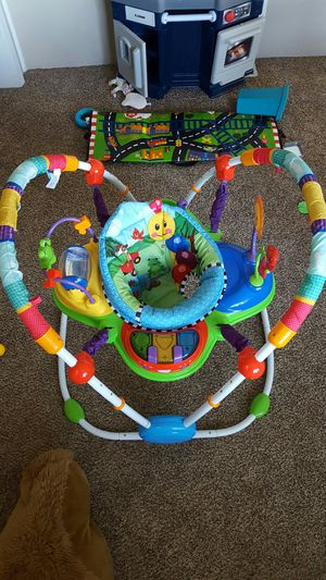 Baby Einstein jumper and educational toy for Sale in Stanfield, NC