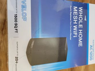 Brand New LINKSYS Dual Band WiFi Router 1500 SQFT for Sale in Westerville,  OH