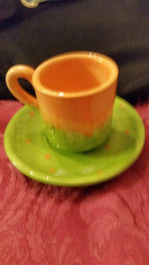 Small tea cup and saucer for Sale in Winter Haven, FL