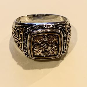 Sterling Silver Irish Cross Ring for Sale in Ronkonkoma, NY