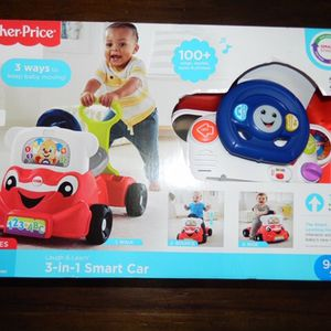 Laugh And learn 3 In 1 smart Car - Fisher Price for Sale in Hollywood, FL