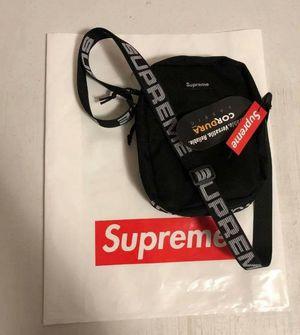 Black supreme shoulder bag for Sale in Escondido, CA