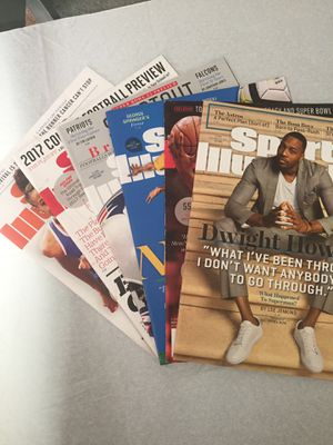 6 2017 SPORTS ILLUSTRATED MAGAZINES for Sale in Chicago, IL
