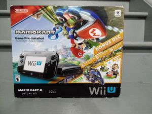 Nintendo Wii U! 32Gb delux set. for Sale in HOFFMAN EST, IL