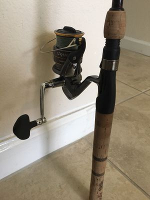 Fishing Rod and Reel for Sale in Doral, FL