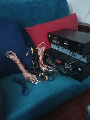 High power stereo with separate equalizer for Sale in Baltimore, MD